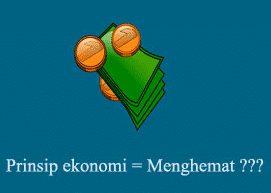 gambar prinsip ekonomi