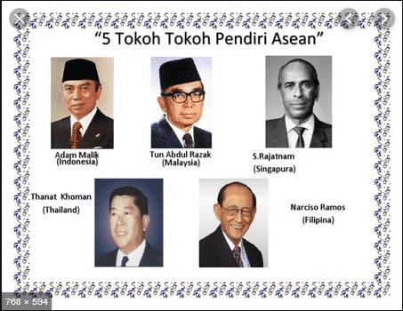5-Tokoh-Pendiri-Asean-:-Adam-Malik,-Tun-Abdul-Razak,-Thanat-Khoman,-S.-Rajaratnam