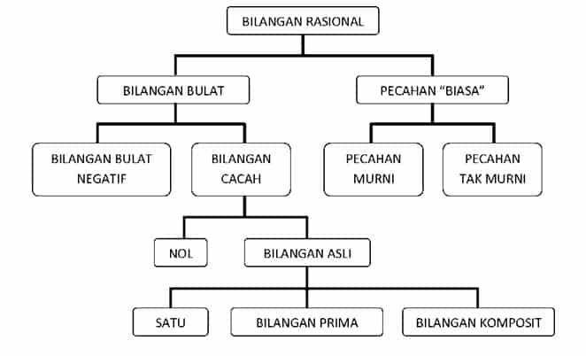 Struktur Himpunan Bilangan Rasional