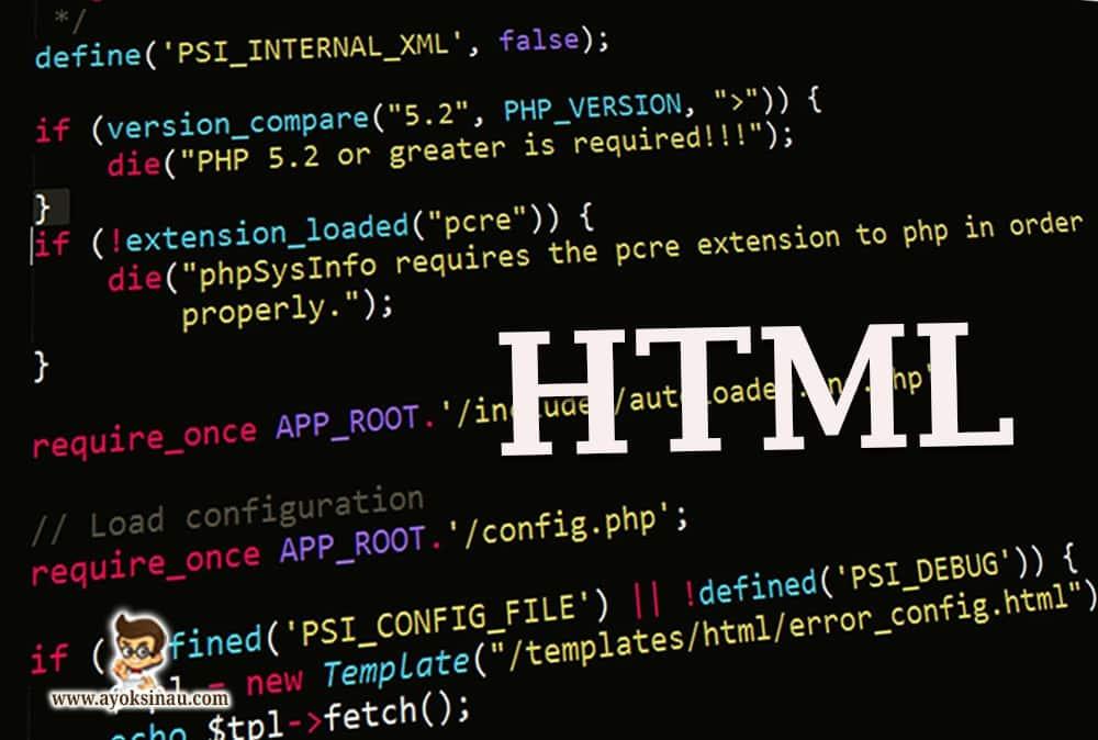 pengertian-html