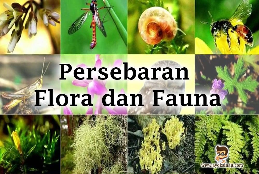 Faktor Dan Persebaran Flora Dan Fauna Di Indonesia